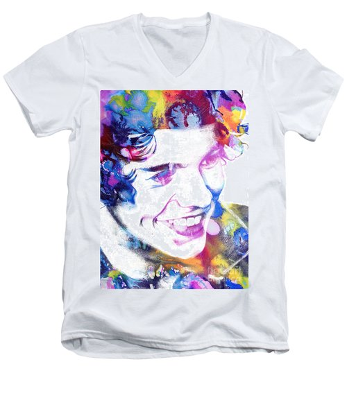 Harry Styles - One Direction Men's V-Neck T-Shirt