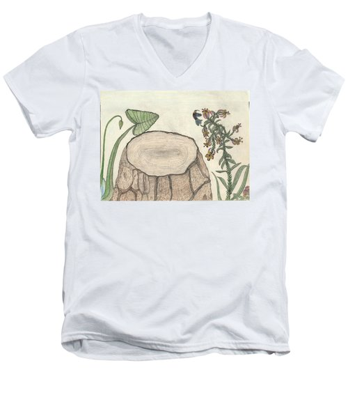 Harvested Beauty Men's V-Neck T-Shirt