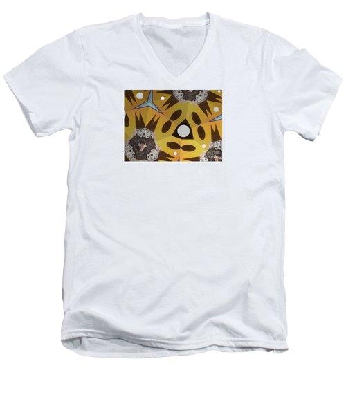 Hat's To Grandma Men's V-Neck T-Shirt