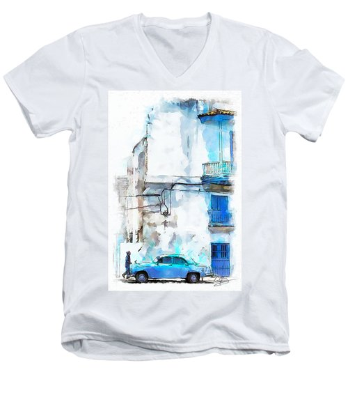 Havana Street Men's V-Neck T-Shirt