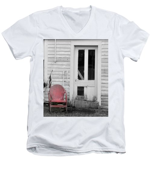 Have A Seat Men's V-Neck T-Shirt