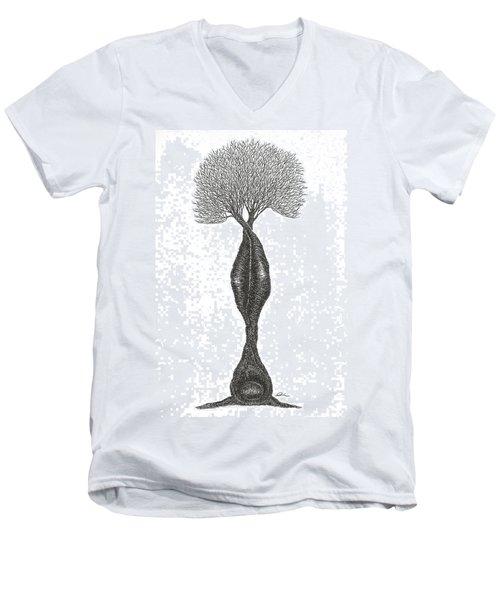 Headstand Men's V-Neck T-Shirt