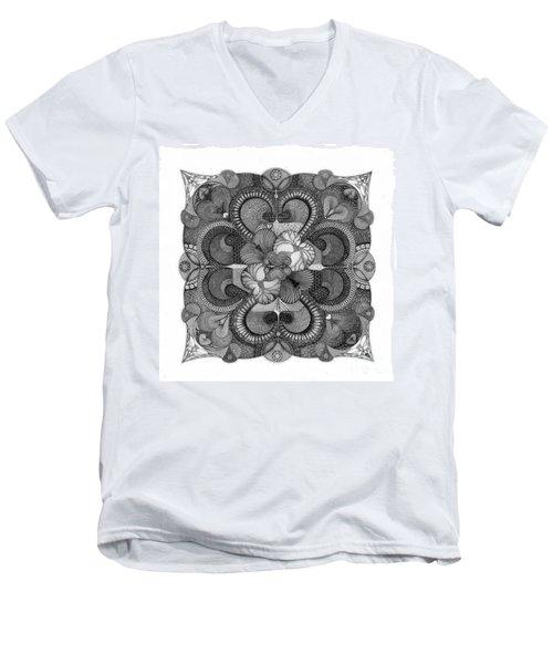 Heart To Heart Men's V-Neck T-Shirt