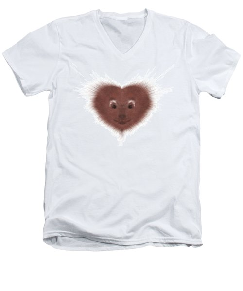 Hearty Beast 1 Men's V-Neck T-Shirt