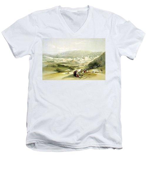 Hebron Men's V-Neck T-Shirt