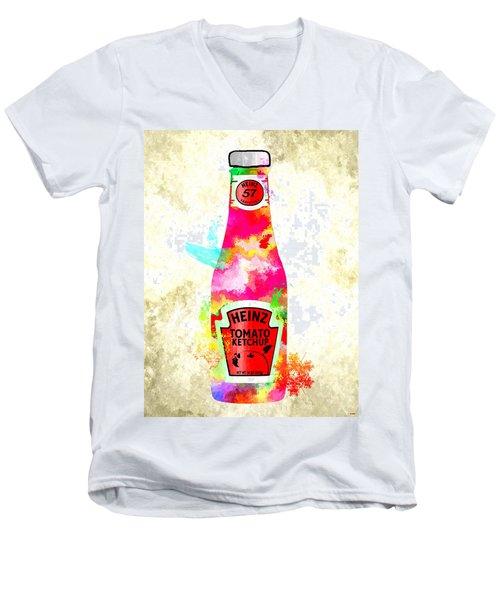 Heinz Men's V-Neck T-Shirt