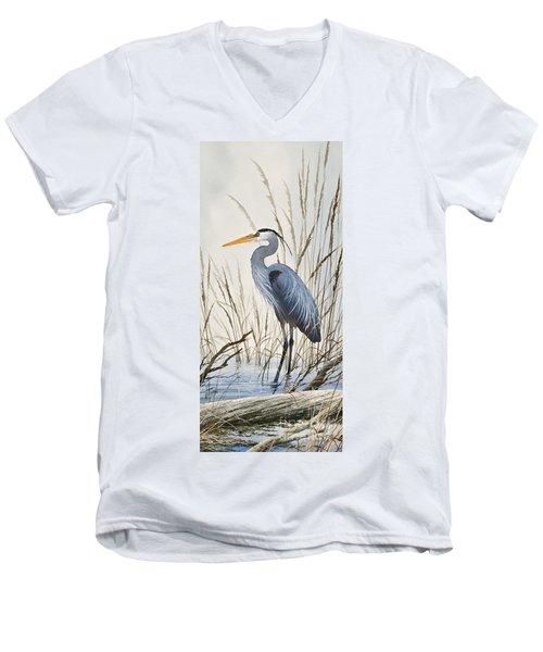 Herons Natural World Men's V-Neck T-Shirt