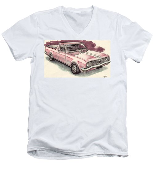 Hg Holden Ute Men's V-Neck T-Shirt