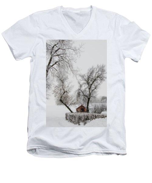 Hide Away Men's V-Neck T-Shirt