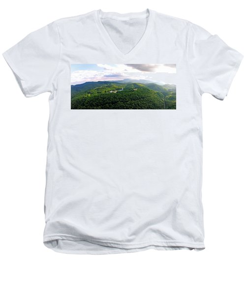 High Country 1 In Wnc Men's V-Neck T-Shirt