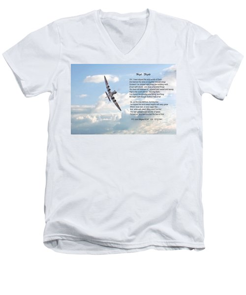 High Flight Men's V-Neck T-Shirt