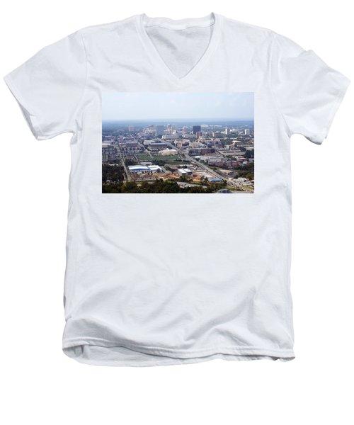 High On Columbia Men's V-Neck T-Shirt