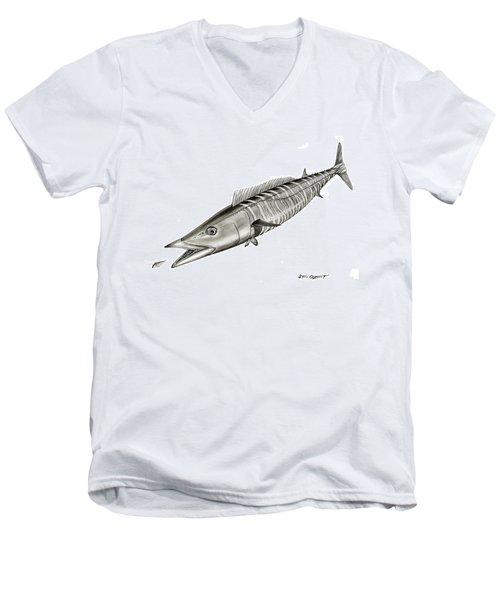 High Speed Wahoo Men's V-Neck T-Shirt