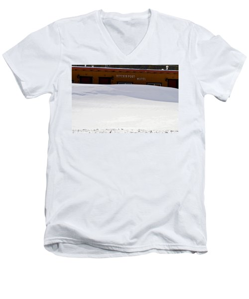 Hitchin' Post April Men's V-Neck T-Shirt