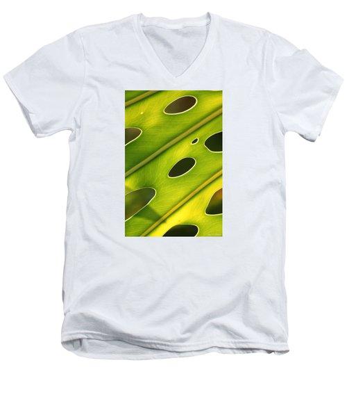 Holey Light Men's V-Neck T-Shirt