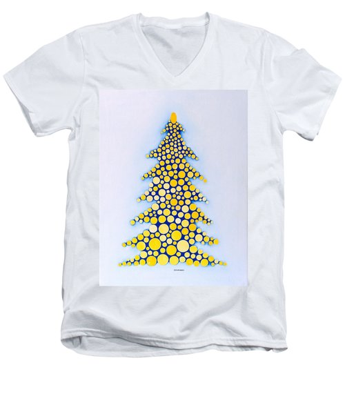 Holiday Tree #2 Men's V-Neck T-Shirt