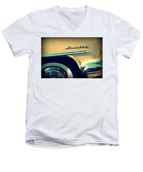 Men's V-Neck T-Shirt featuring the photograph Holiday by Valerie Reeves