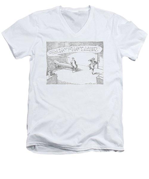 'hop? Jig? Dance? You're A Dancer? Sounds Like? Men's V-Neck T-Shirt