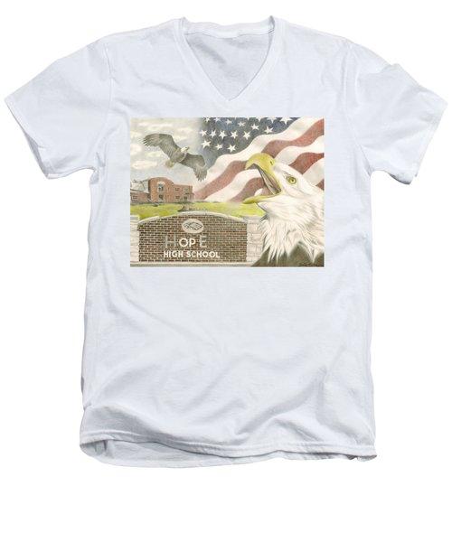 Hope High School Men's V-Neck T-Shirt