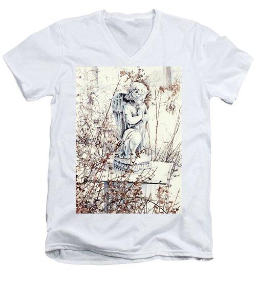 Hope In Winter Men's V-Neck T-Shirt