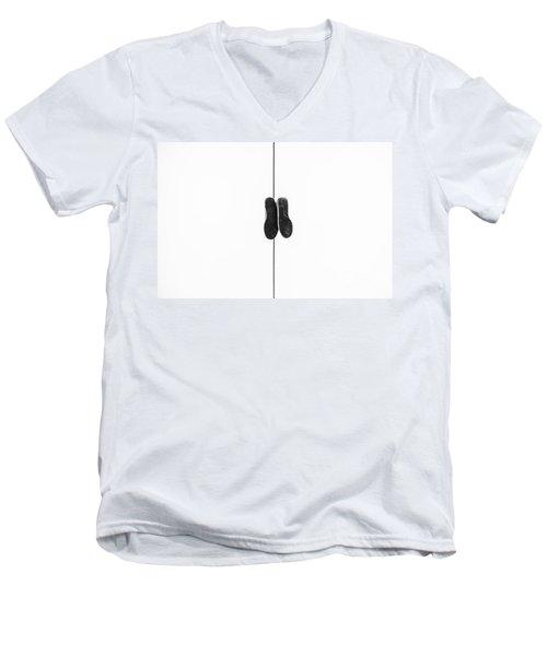 Hopeless Wanderer Men's V-Neck T-Shirt by Michael Ver Sprill
