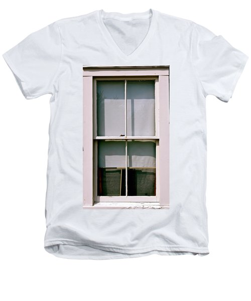 Hopper Was Here Men's V-Neck T-Shirt