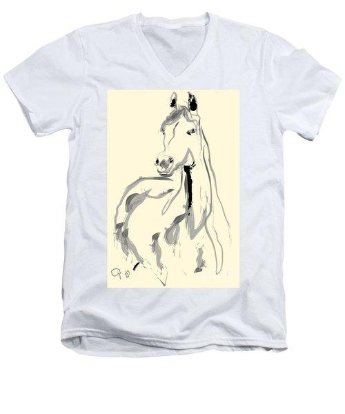 Horse - Arab Men's V-Neck T-Shirt