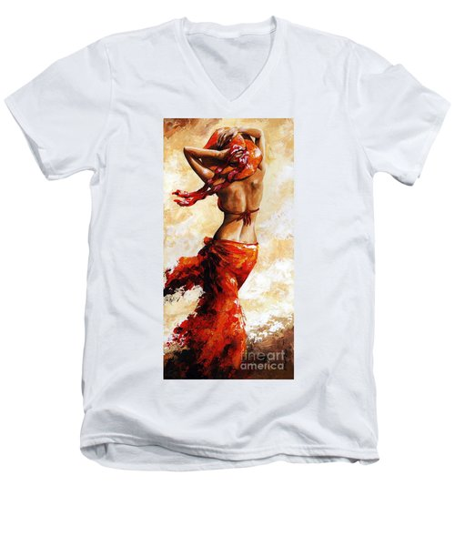 Hot Breeze 03 Men's V-Neck T-Shirt
