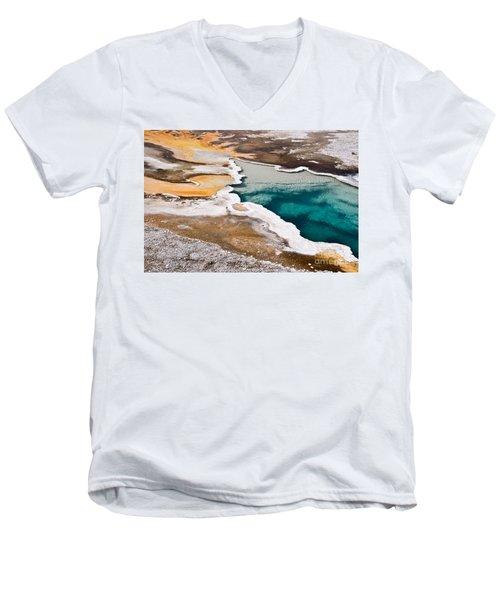 Hot Spring  Men's V-Neck T-Shirt