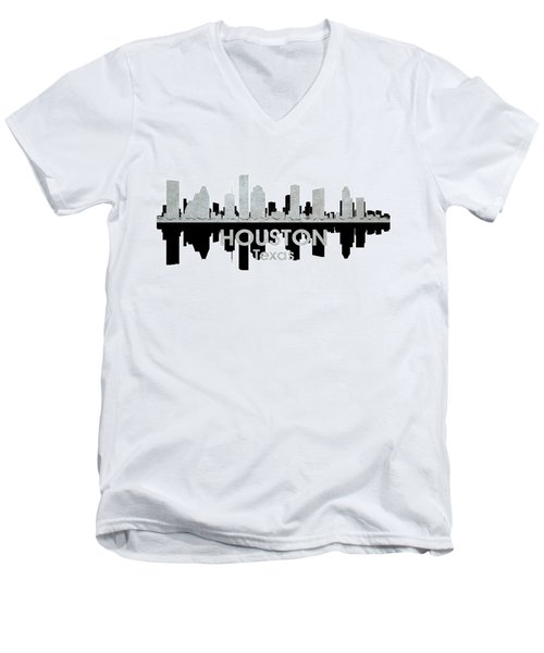 Houston Tx 4 Men's V-Neck T-Shirt