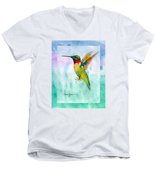 Da202 Hummer Dreams Revisited By Daniel Adams Men's V-Neck T-Shirt