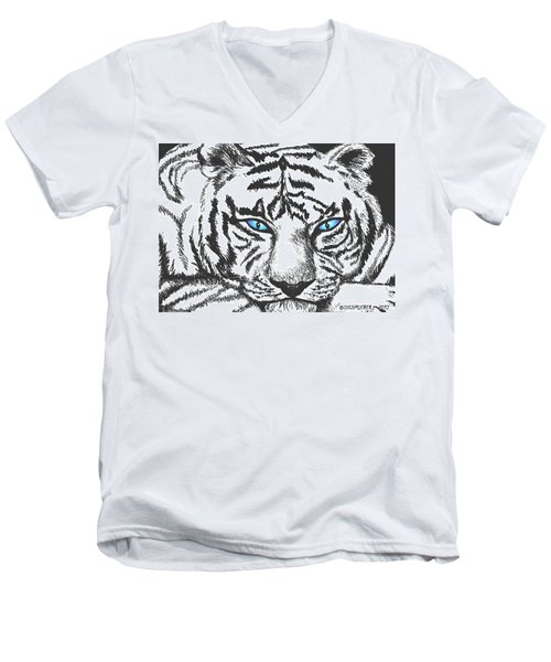 Hungry Eyes Men's V-Neck T-Shirt