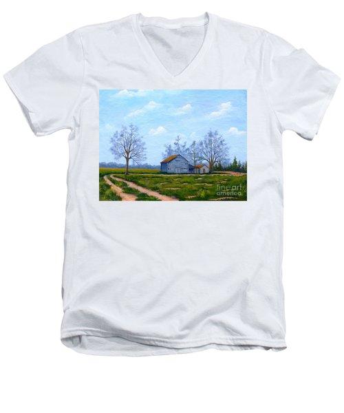Hwy 302 Farm Men's V-Neck T-Shirt