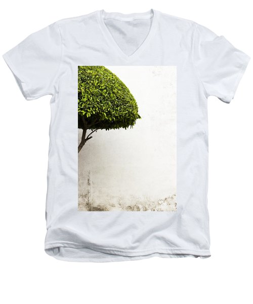 Hypnotic Tree Men's V-Neck T-Shirt