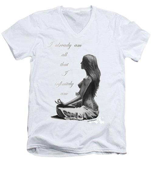 I Am Men's V-Neck T-Shirt