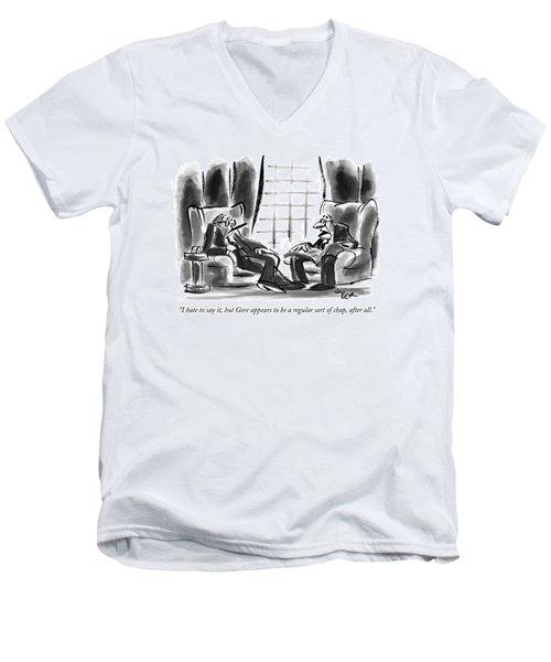 I Hate To Say Men's V-Neck T-Shirt