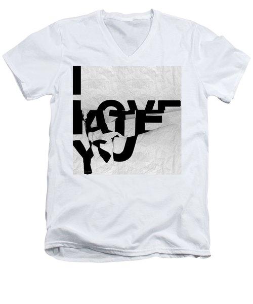 I Have You Men's V-Neck T-Shirt