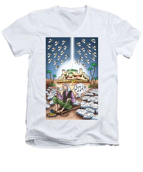 I Keep Hearing Music Men's V-Neck T-Shirt