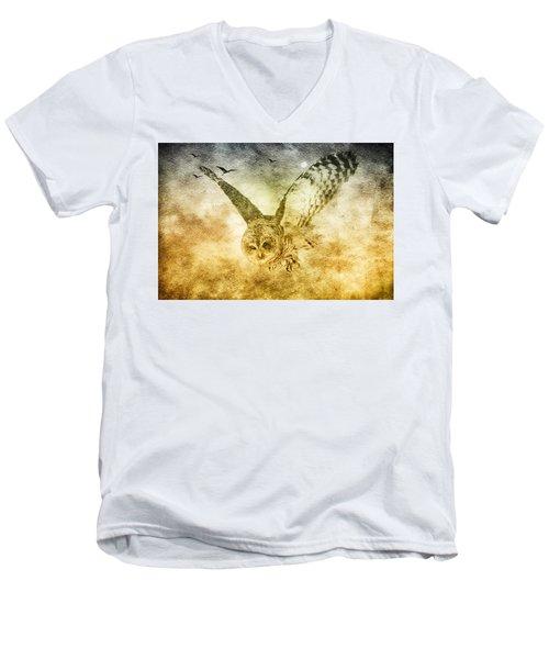 I Shall Return Men's V-Neck T-Shirt