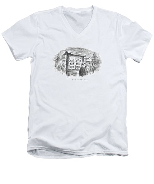 I Still Can't Tell 'em Apart Men's V-Neck T-Shirt