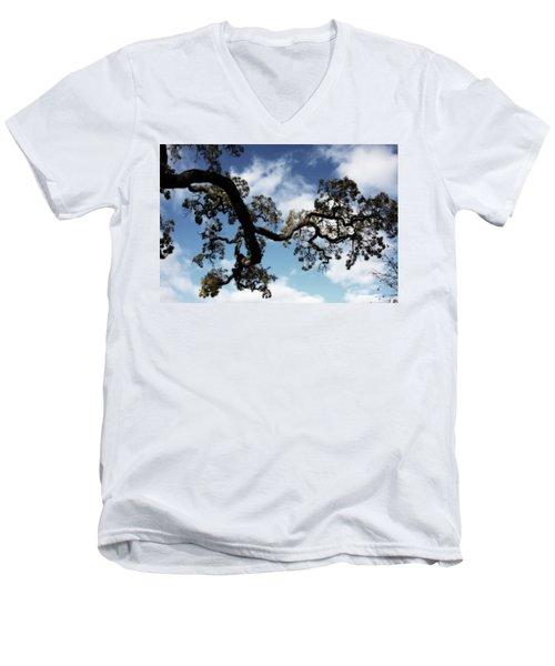 I Touch The Sky Men's V-Neck T-Shirt