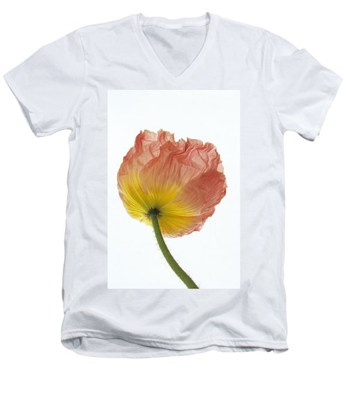 Iceland Poppy 1 Men's V-Neck T-Shirt