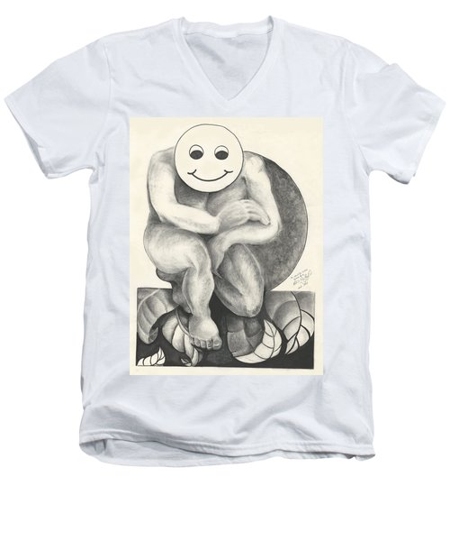 Identity Crisis Men's V-Neck T-Shirt