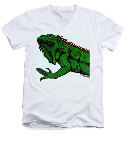Iguana Men's V-Neck T-Shirt