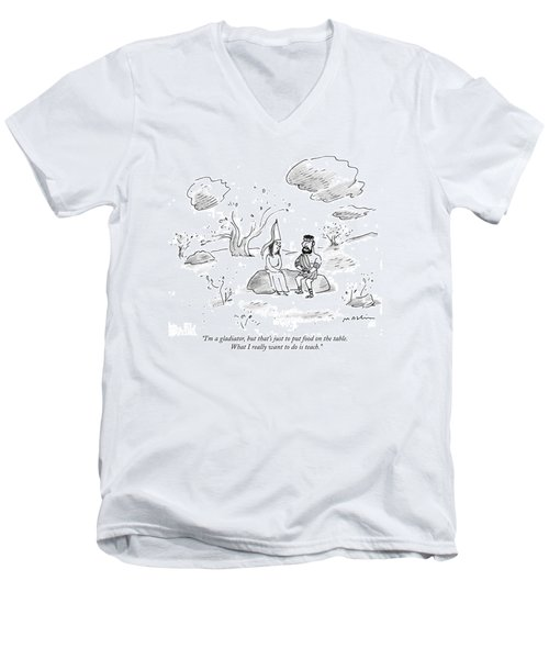 I'm A Gladiator Men's V-Neck T-Shirt