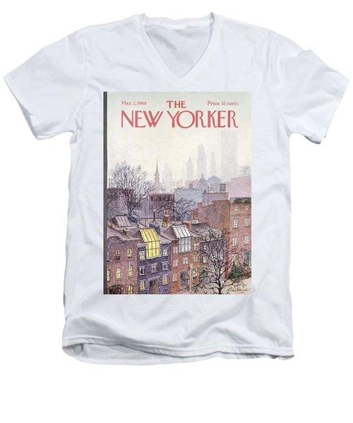 In The Borough Men's V-Neck T-Shirt