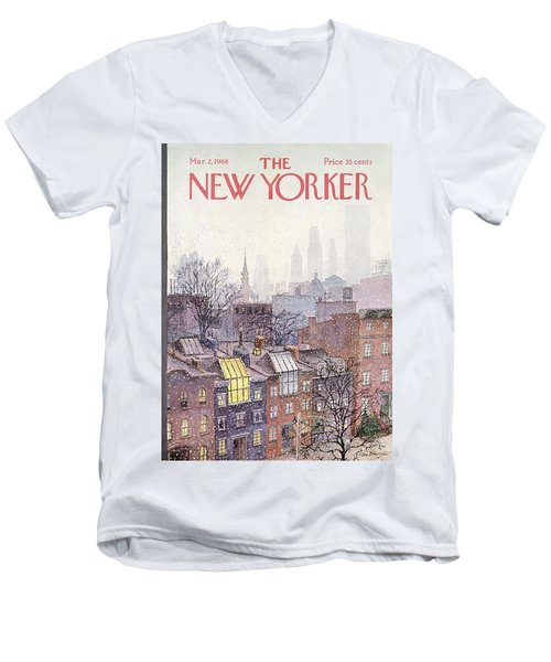 New Yorker March 2, 1968 Men's V-Neck T-Shirt