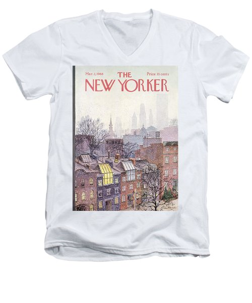 In The Borough Men's V-Neck T-Shirt