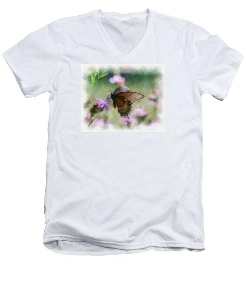 In The Flowers Men's V-Neck T-Shirt