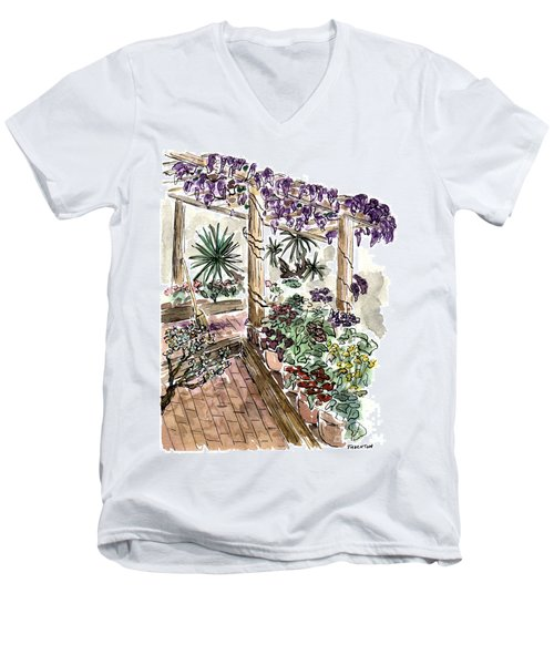 In The Greenhouse Men's V-Neck T-Shirt